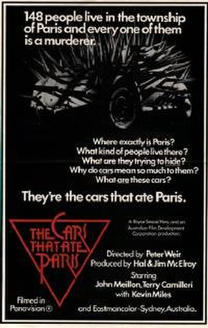 The Cars That Ate Paris - Promotional poster