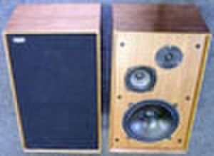 Thames Ditton - A pair of Ditton speakers produced by Celestion in the village