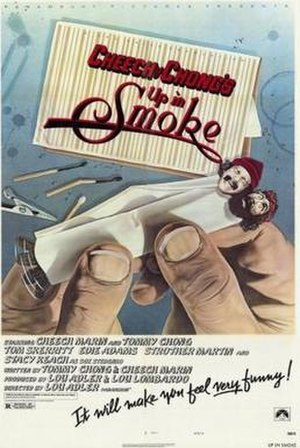Up in Smoke - Theatrical release poster