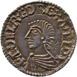 Thored - Image: Coin of Æthelred the Unready