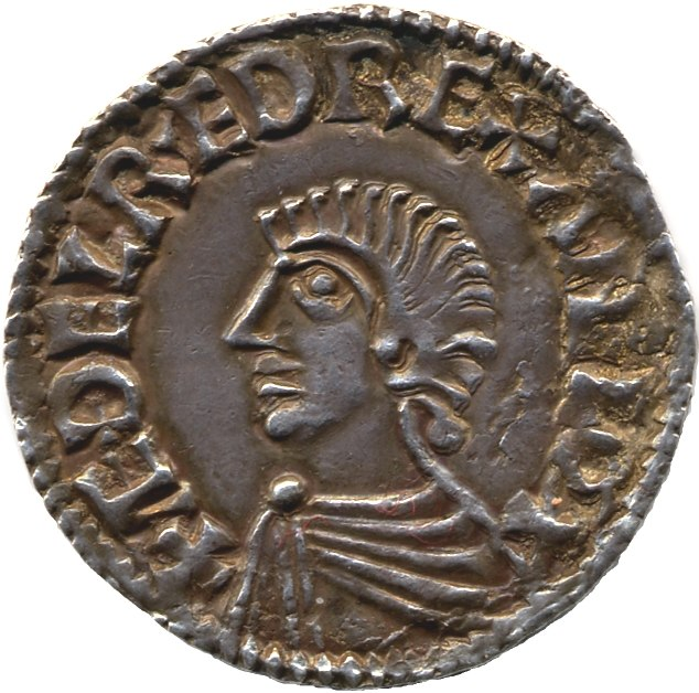 Coin of Æthelred the Unready