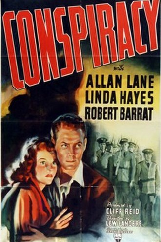 Conspiracy (1939 film) - Theatrical poster for the film