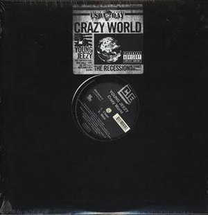 Crazy World (Young Jeezy song) - Image: Crazy World single