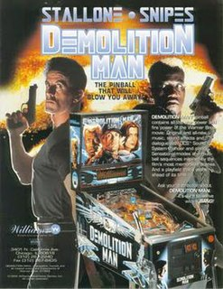 <i>Demolition Man</i> (pinball)