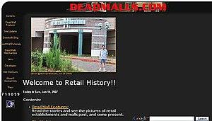 Deadmalls.com - Image: Deadmalls dot com screenshot