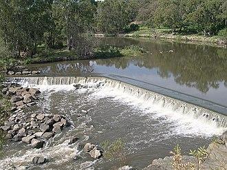 Dights Falls - Dights Falls on the Yarra River, Abbotsford.