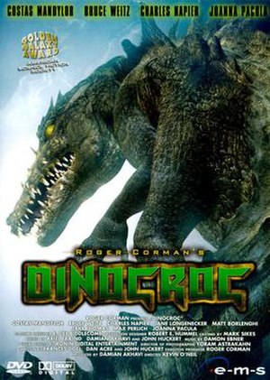 Dinocroc - DVD cover