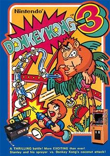 <i>Donkey Kong 3</i> video game