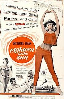 <i>Eighteen in the Sun</i> 1962 film by Camillo Mastrocinque