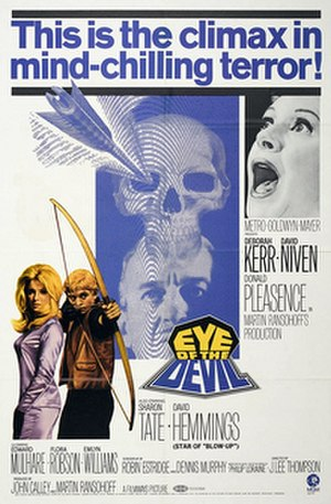 Eye of the Devil - Original film poster