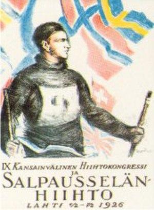 FIS Nordic World Ski Championships 1926 - Image: FIS Nordic WSC 1926 poster