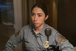 The Narrow Escape Problem - The episode introduces Olivia Sandoval as policewoman Winnie Lopez.