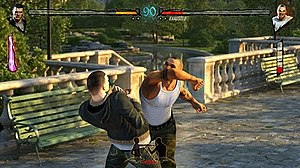 Fighters Uncaged - Screenshot of the gameplay in Fighters Uncaged