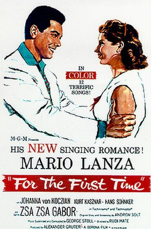 For the First Time (1959 film) - Image: For the first time