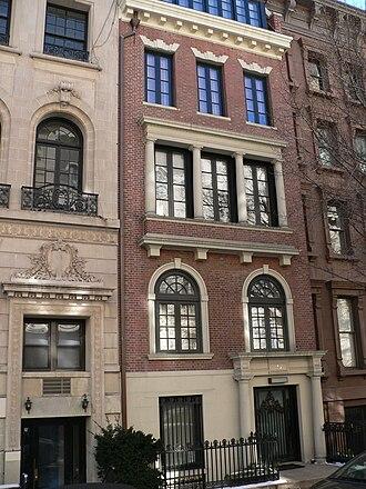 St. Anthony Hall - Gage, 1902–1904: former St. Anthony Club, New York