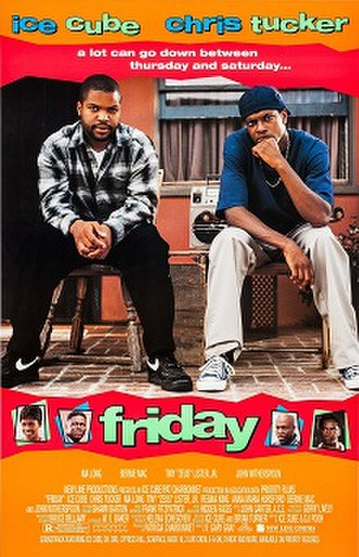 Friday (1995 film) - Theatrical release poster
