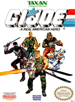G.I. Joe (NES video game) - Front cover