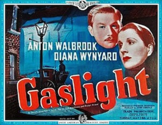 Gaslight (1940 film) - Pre-release poster for trade showing