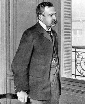 Gaston Serpette - Serpette: a 1904 press photograph
