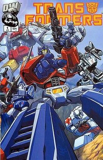 Transformers: Generation One (Dreamwave) - Image: Generation 1 v 01 n 01 dreamwave