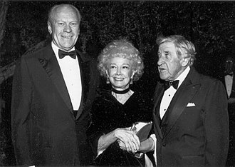 Anne T. Hill - Image: Gerald Ford, Anne T. Hill, and Edgar L. Mc Coubrey