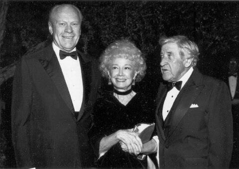 Gerald Ford, Anne T. Hill, and Edgar L. McCoubrey