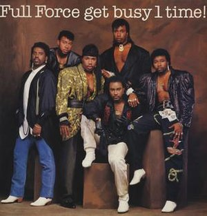 Full Force - Image: Get Busy 1 time! cover