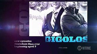 Gigolos - Title card from original trailer