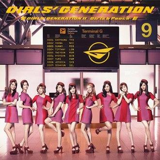 Girls & Peace - Image: Girlsgenertion 2ndjapanalbum