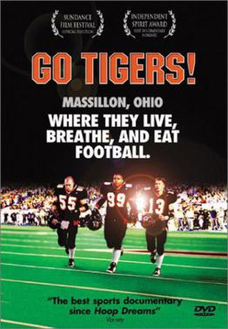 Go Tigers! - DVD cover