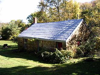 Goshen, New York - Old stone schoolhouse near Finnegans Corner