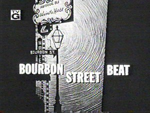 Bourbon Street Beat - Title card