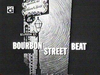 Bourbon Street Beat - Title card