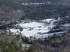 Gunstock's Base Area in 2004