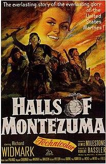 <i>Halls of Montezuma</i> (film) 1951 film by Lewis Milestone