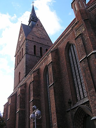 Marktkirche, Hanover - Marktkirche, 2004