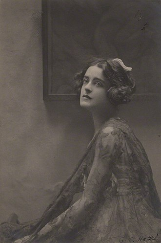 Arnold Bax - Harriet Cohen, Bax's muse, in 1920