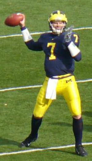 Michigan Wolverines football statistical leaders - Career leader in passing yards, Chad Henne