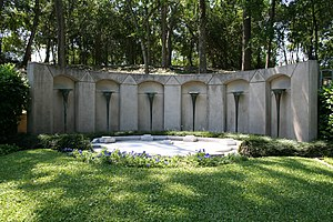 Howard R. Hughes Sr. - The Hughes Family gravesite at Glenwood Cemetery in Houston.