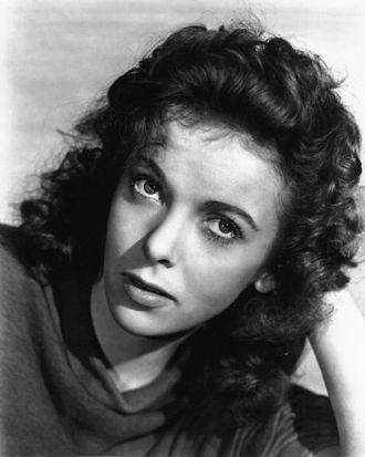 Ida Lupino - Lupino in a promotional photo for Moontide, 1942