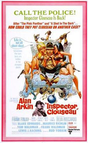 Inspector Clouseau (film) - film poster by Jack Davis