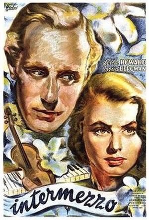 Intermezzo (1939 film) - 1945 Argentine film poster