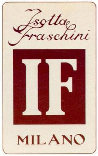 Isotta Fraschini - Image: Isotta fraschini
