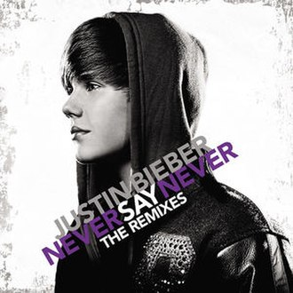 Never Say Never: The Remixes - Image: JB NEVER cover