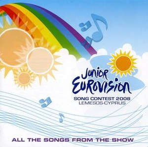 Junior Eurovision Song Contest 2008 - Image: JESC 2008 album cover