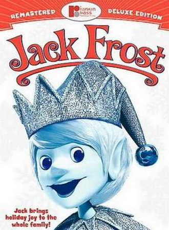 Jack Frost (TV special) - DVD cover