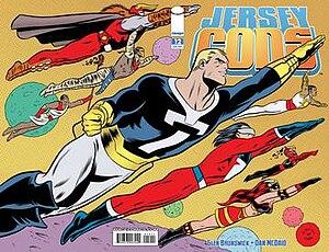 Jersey Gods - Image: Jersey Gods 12 cover