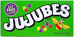 Jujube (confectionery) - Image: Jujubes Box Small