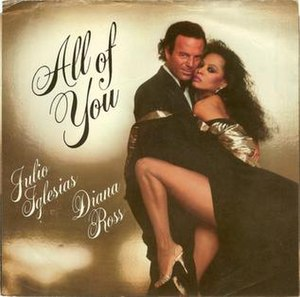 All of You (Julio Iglesias and Diana Ross song) - Image: Juliodianaallofyou