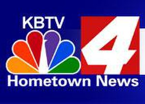 KBTV-TV - KBTV's last logo as an NBC affiliate; several versions of this logo were used from when the station became KBTV in 1999 until affiliating with Fox in 2009.